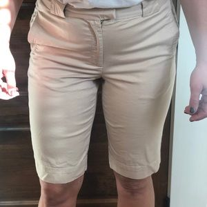 Vince Coin Pocket Khaki Bermuda Shorts